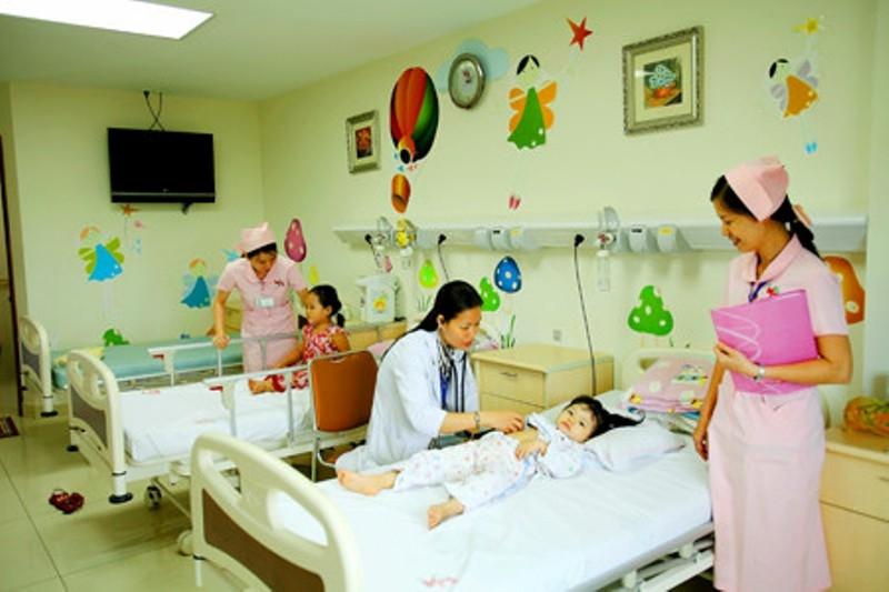 Phòng điều trị tại Bệnh viện Vũ Anh