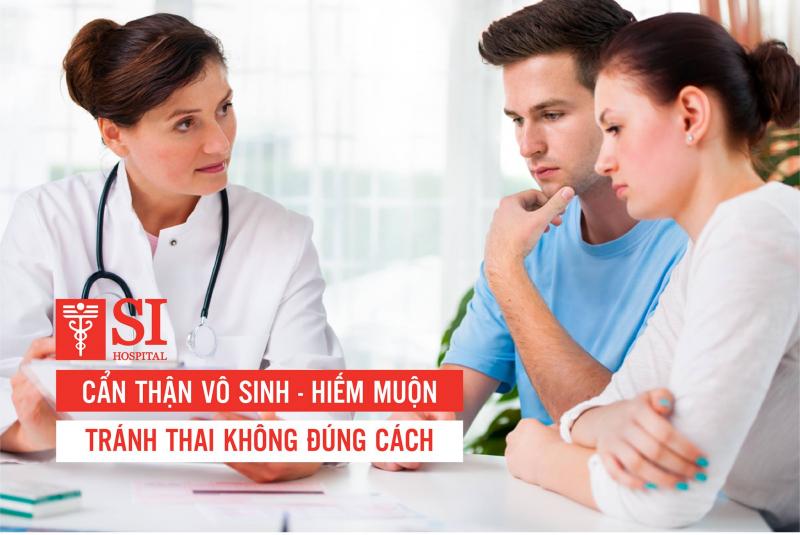 Đến với Bệnh viện Phụ sản Quốc tế Sài Gòn bạn sẽ được tư vấn nhiệt tình.