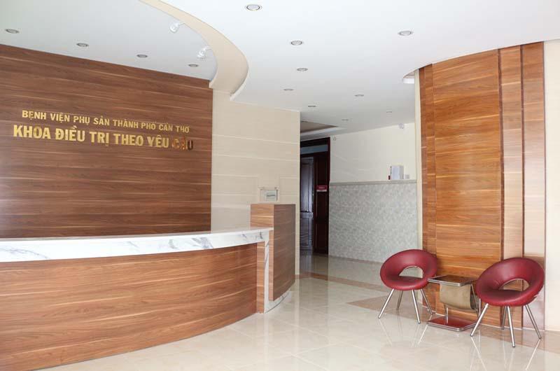 Bên trong Bệnh viện Phụ sản thành phố Cần Thơ
