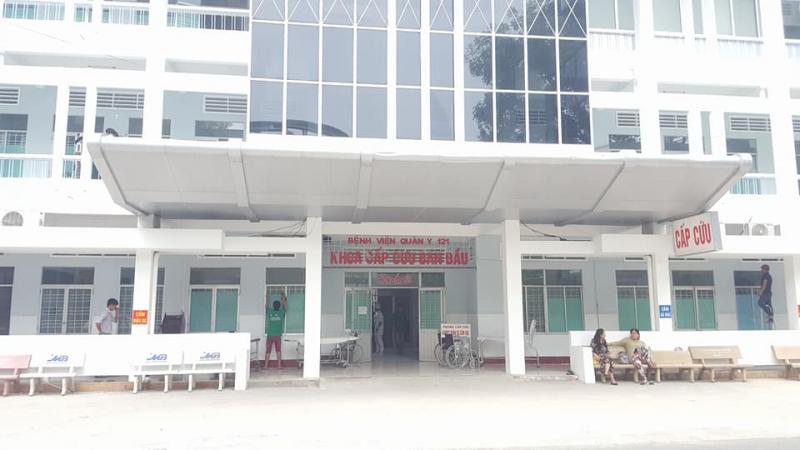 Khoa cấp cứu của Bệnh viện Quân y 121