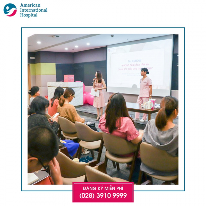Lớp tiền sản tại Bệnh viện Quốc tế Mỹ (AIH)