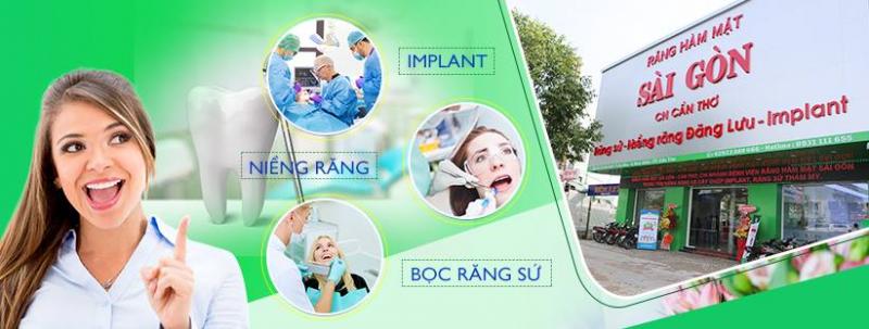 Bệnh viện Răng Hàm Mặt Sài Gòn - Cần Thơ