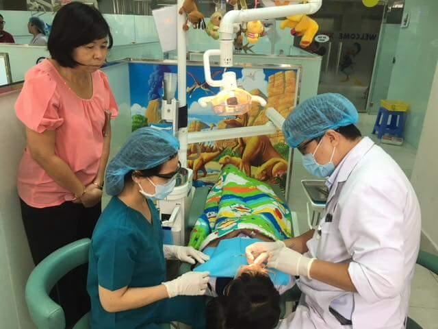 Xoá tan nỗi sợ hãi của trẻ nhỏ khi khám răng hàm mặt tại đây