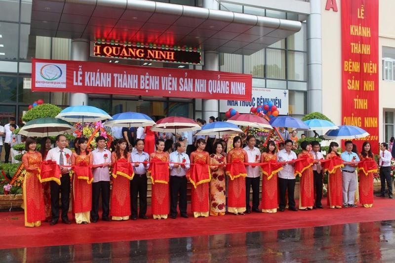 Khánh thành bệnh viện Sản Nhi Quảng Ninh