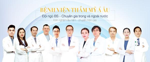 Đội ngũ bác sĩ chuyên gia của tmv Á Âu