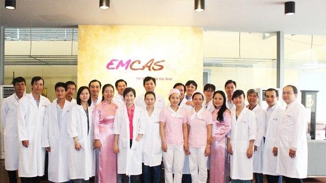Đội ngũ cán bộ nhân viên của Emcas