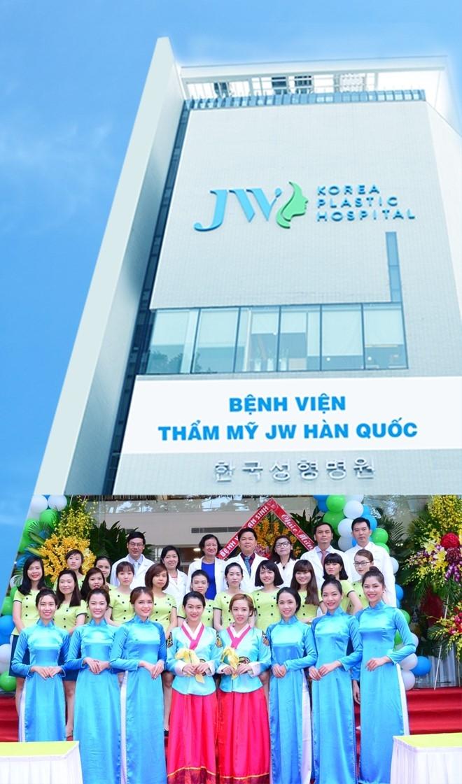 Hình ảnh hiện đại và chuyên nghiệp của Bệnh viện thẩm mỹ JW