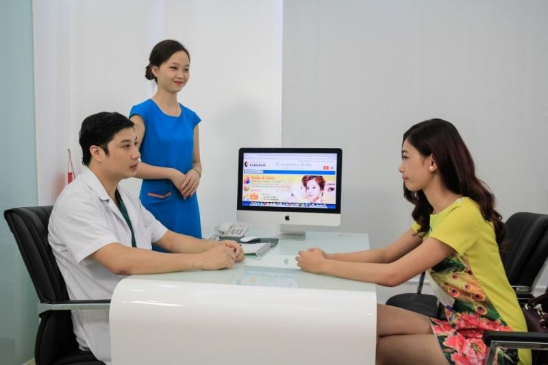 Đội ngũ bác sĩ đầy chuyên môn cùng với công nghệ hiện đại là điểm mạnh của Kangnam
