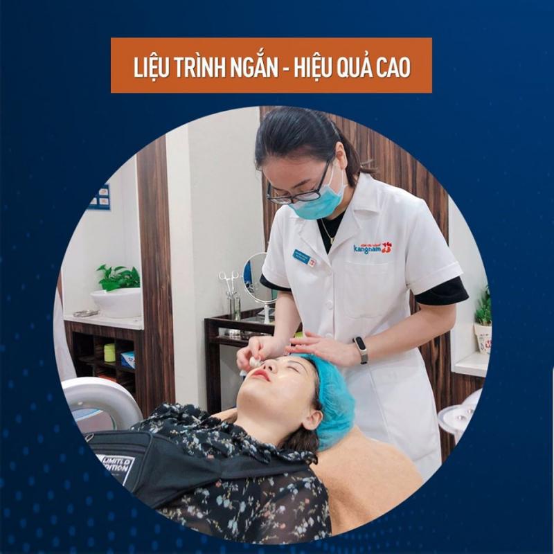 quá trình điều trị nám cho khách hàng