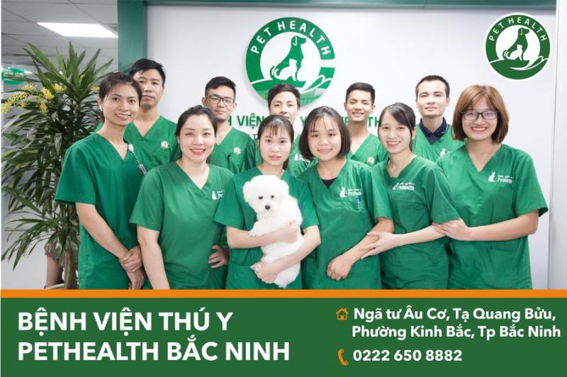 Bệnh viện thú y  PetHealth Bắc Ninh