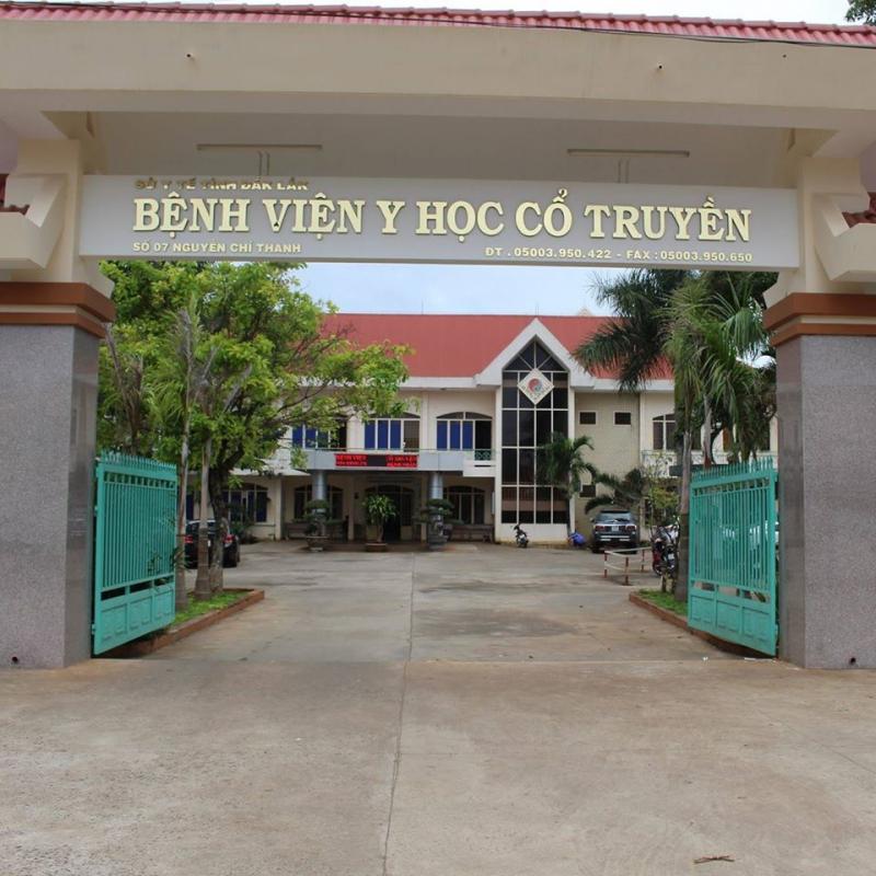 Bệnh viện Y học cổ truyền tỉnh Đắk Lắk