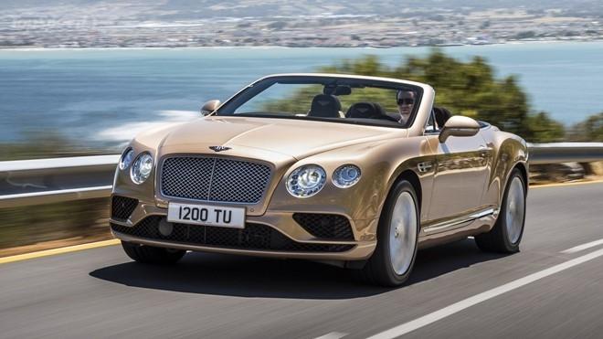 Nội thất Bentley Continental GT W12 Convertible được thiết kế lại mới hoàn toàn