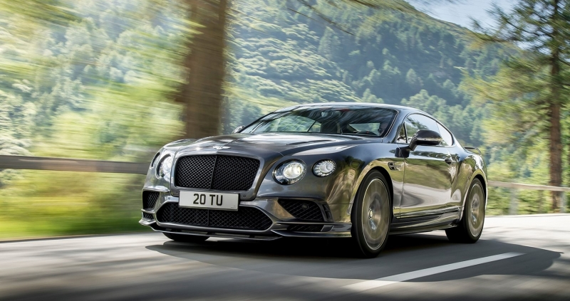 Hình ảnh rò rỉ về Bentley Continental Supersports convertible