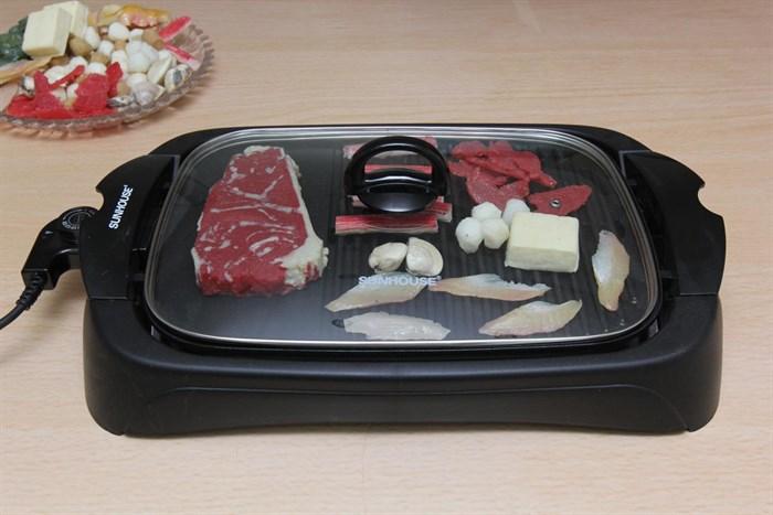 Bếp nướng điện Sunhouse SHD4602 nướng chín nhanh, không tạo khói