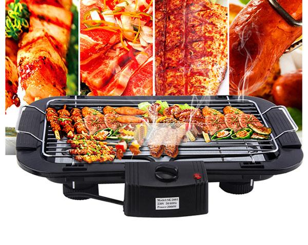 Bếp nướng điện không khói Electric Barbecue Grill phù hợp với mọi loại thực phẩm