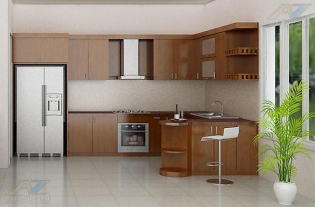 Phòng bếp nằm ở hướng Đông không nên bài trí cây cảnh