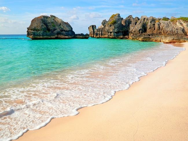 Bãi biển xanh ngắt