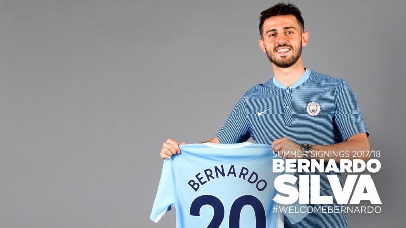 Bernado Silva đến Man City