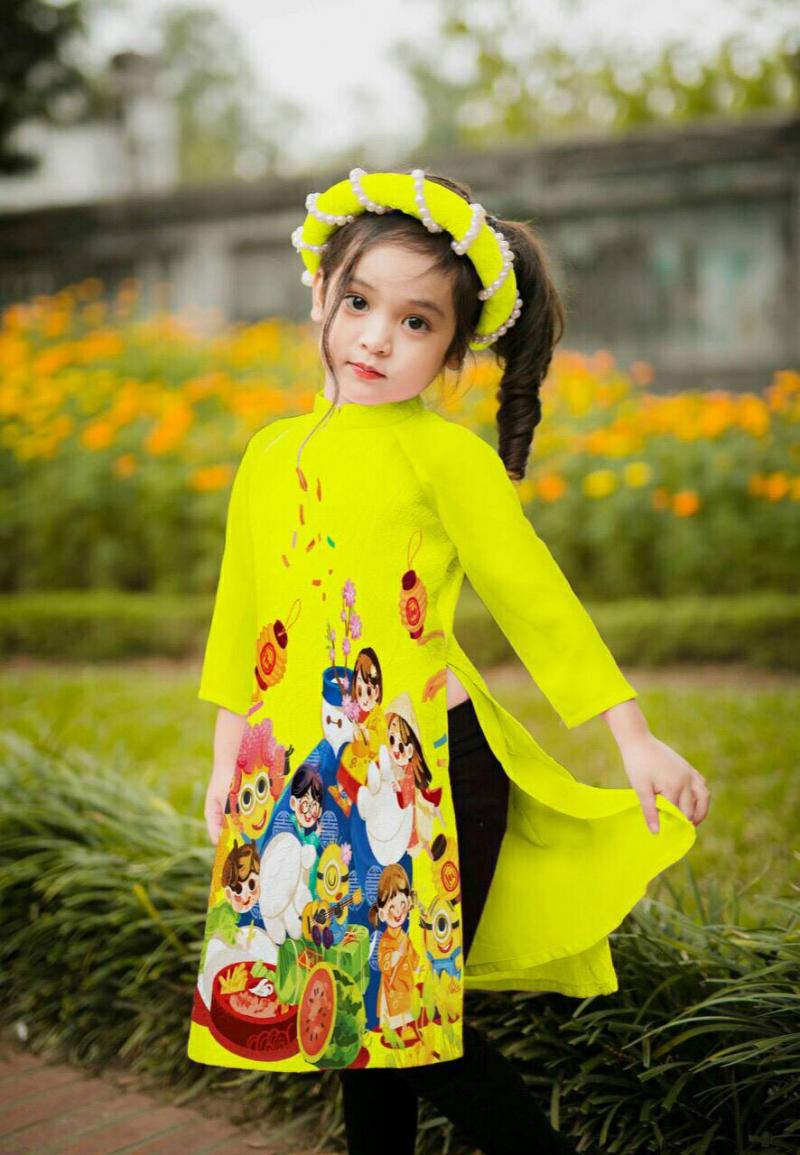 Top 5 shop bán áo dài trẻ em đẹp nhất tại TP. HCM