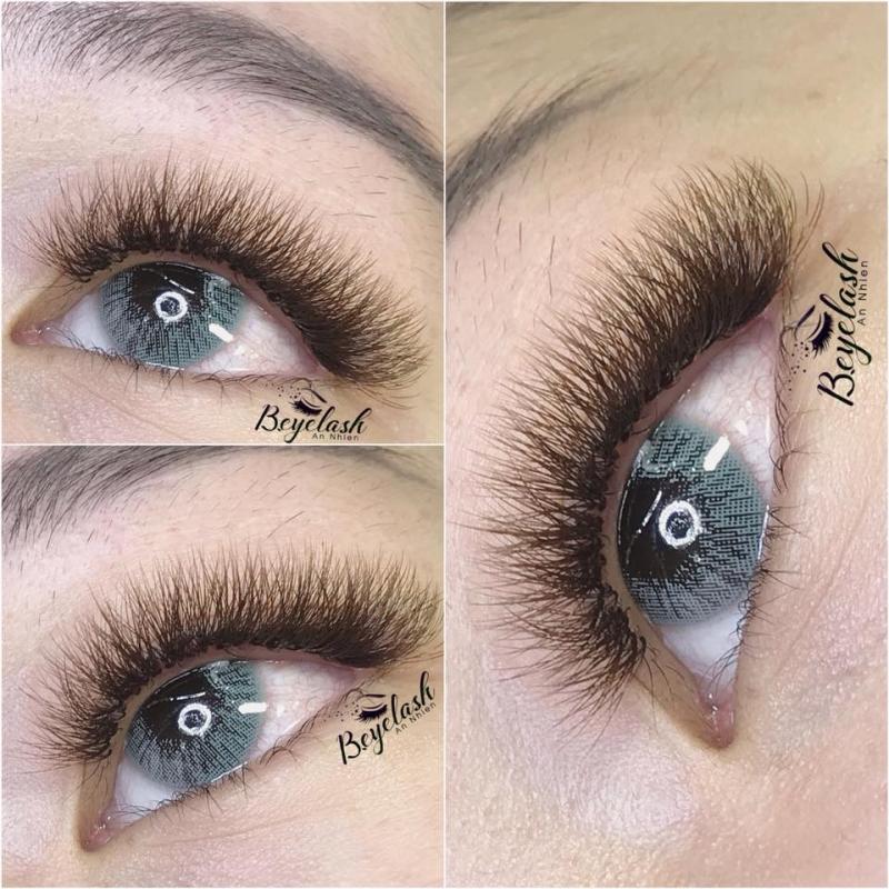 B.eyelash