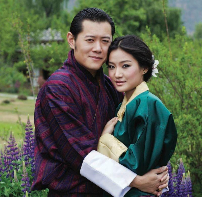 Mối tình giữa Quốc vương và Hoàng hậu Bhutan tựa như câu chuyện cổ tích.