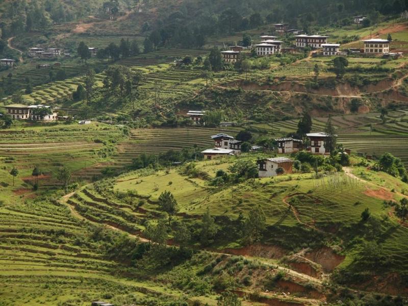 Ở Bhutan, động vật và thực vật đều có cơ hội phát triển phong phú, đa dạng.