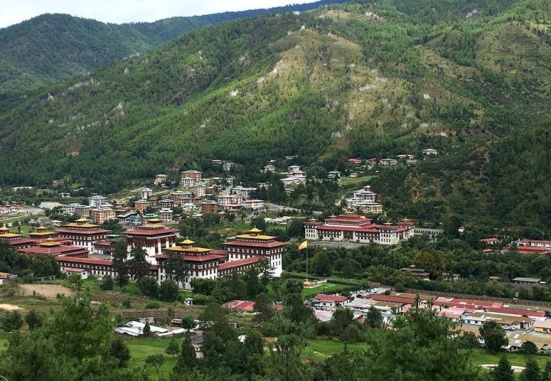 Ở Bhutan có nhiều ngôi nhà hàng trăm năm tuổi.