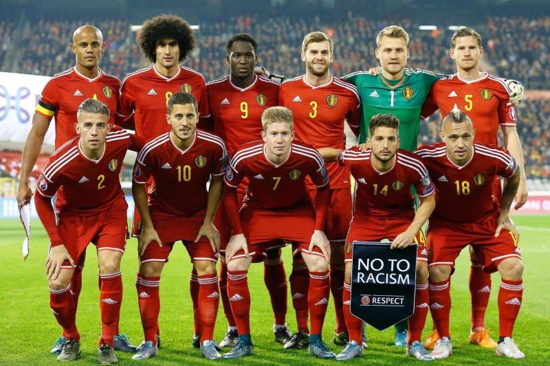 Đội ngũ trẻ trung của tuyển Bỉ hứa hẹn sẽ đem lại nhiều bất ngờ