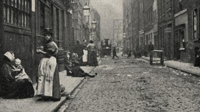Một trong những hiện trường Jack the Ripper thực hiện tội ác.