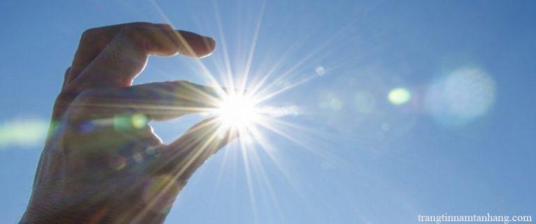 Bị nám da do ánh nắng mặt trời