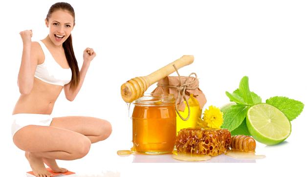 Giảm cân bằng chanh kết hợp với mật ong