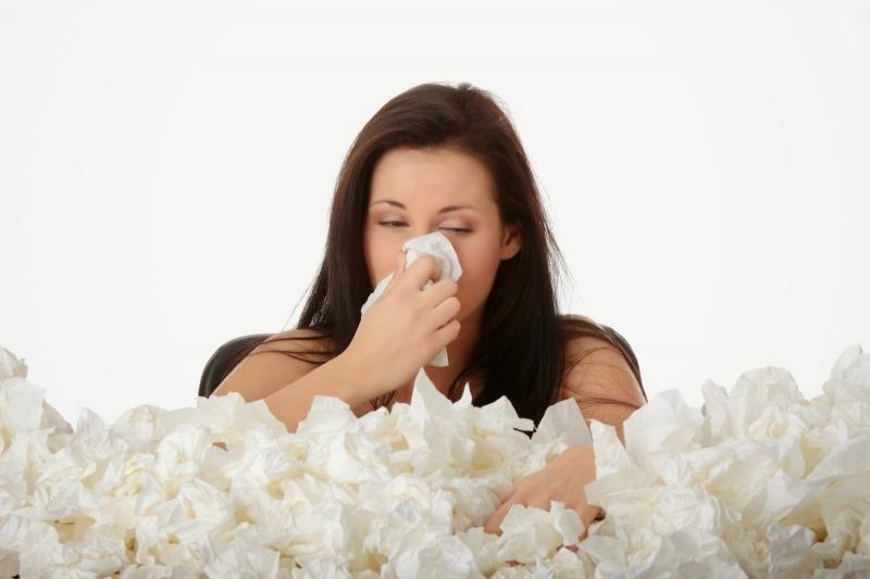 Bị viêm mũi dị ứng