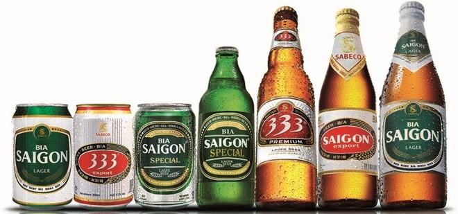 Các loại bia Sài Gòn