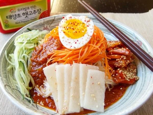 Bibim Naengmyeon (Mì lạnh)