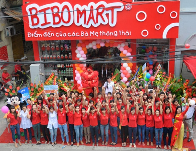 Bibo Mart có đội ngũ nhân viên nhiệt tình, có kinh nghiệm.