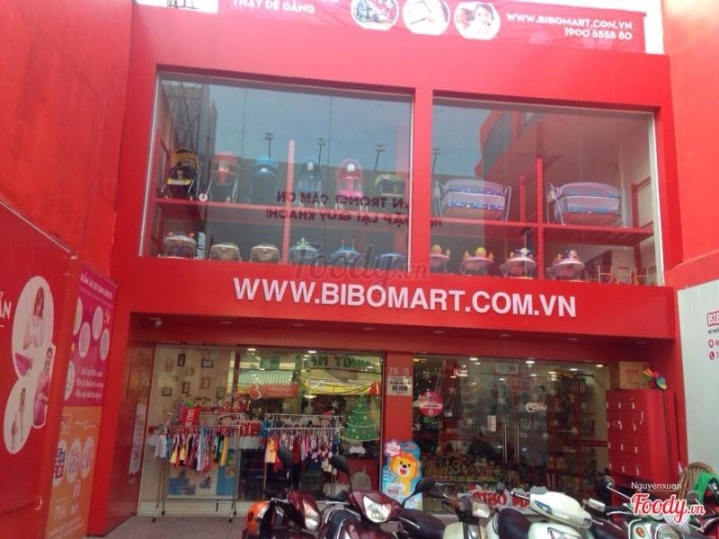 Cửa hàng Bibo Mart tại TPHCM.