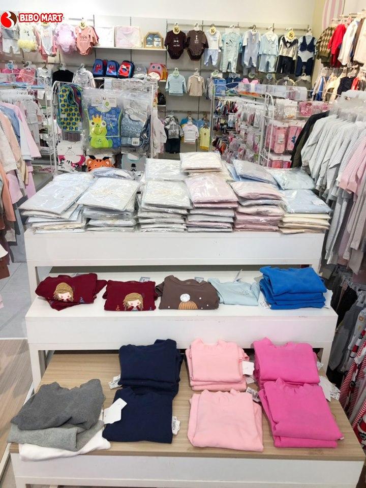 Các mặt hàng quần áo sơ sinh tại Bibo Mart luôn đảm bảo chất lượng