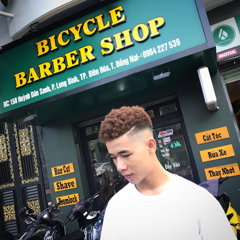 Bicycle Barber shop