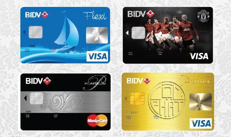 Thẻ tín dụng đồng thương hiệu Manchester United của BIDV thu hút khách hàng