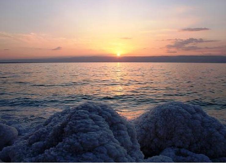 Biển Chết mùa hạ