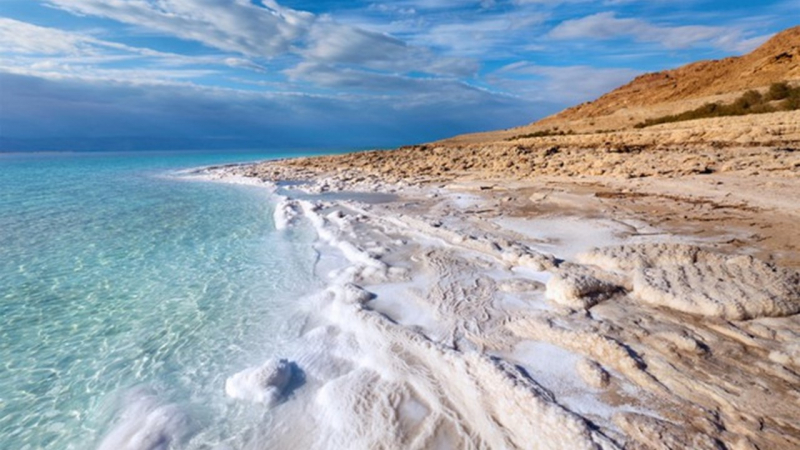 Biển Chết, Jordan và Israel