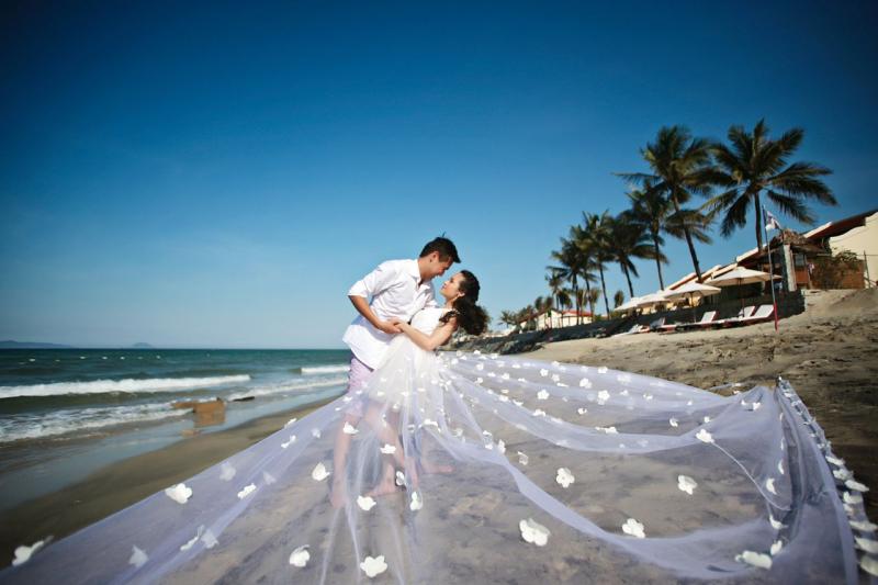 Biển Đồ Sơn, nơi chụp ảnh cưới đẹp ở miền Bắc