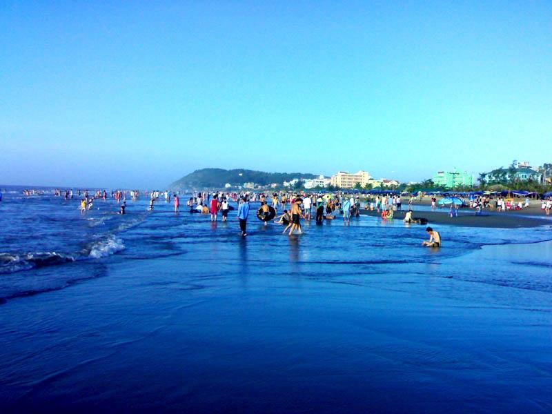 Biển Sầm Sơn được xem như một địa điểm du lịch nổi tiếng của Thanh Hoá