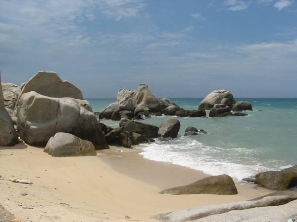 Bãi biển Thuận Quý- một trong những bãi biển Phan Thiết, thực sự là một món quà thiên nhiên quý giá ban tặng.