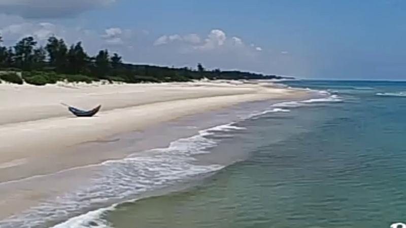 Vẻ đẹp rất tự nhiên của biển Vĩnh Thái