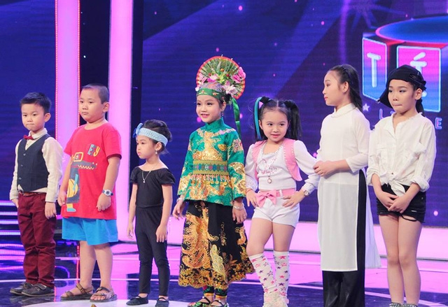 Các bé xuất sắc nhất tại Biệt tài tí hon mùa 1