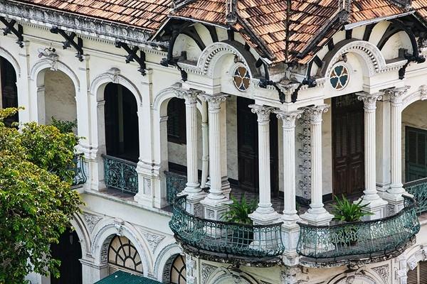 Biệt thự cổ Sài Gòn
