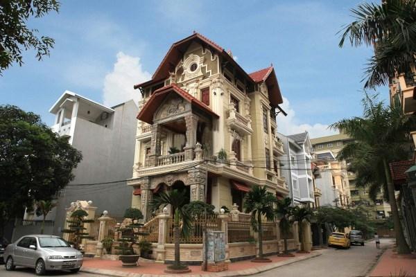 Biệt thự kiến trúc Pháp - Hà Nội
