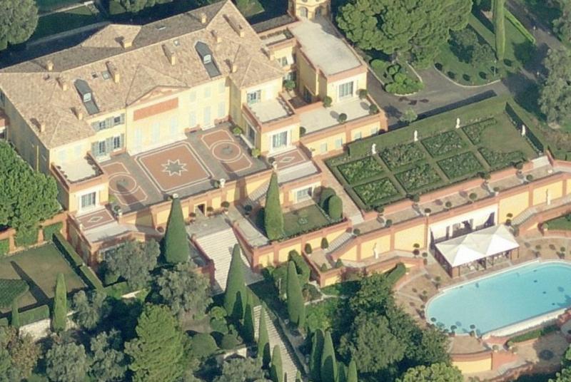 Biệt thự Villa Leopolda, Cote D'Azur, Pháp