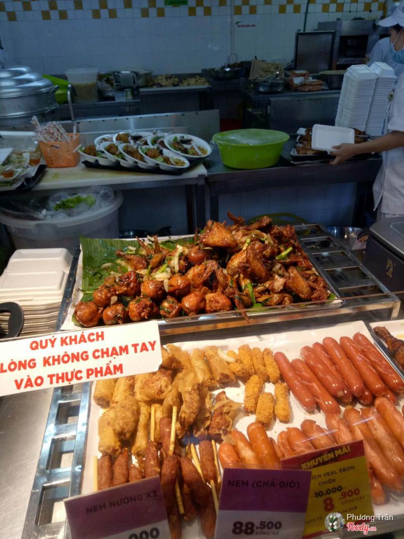 Đồ ăn tại Big C